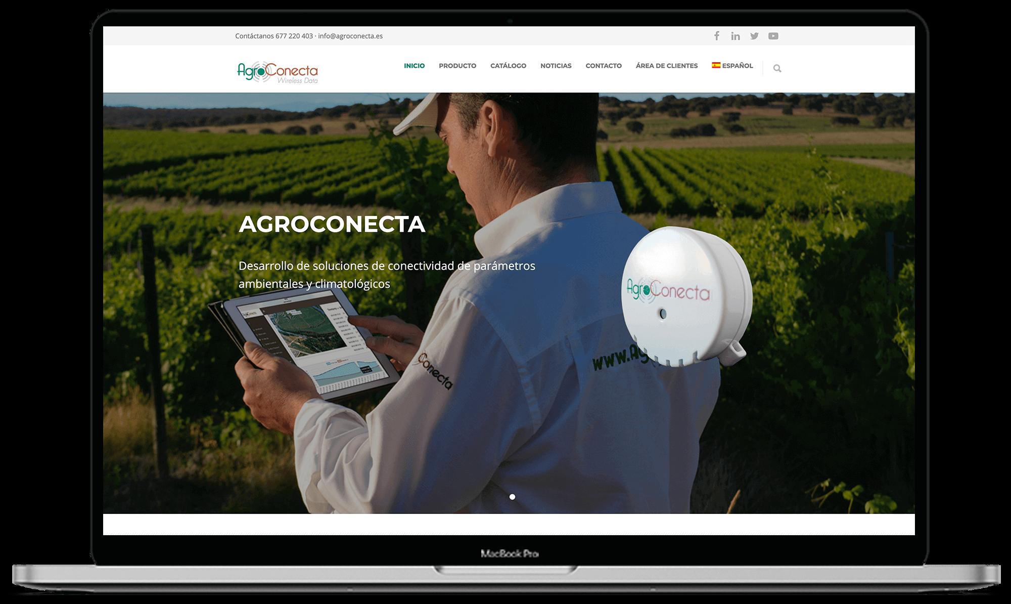 Agroconecta diseño web + app - Synapse   Smart technologies
