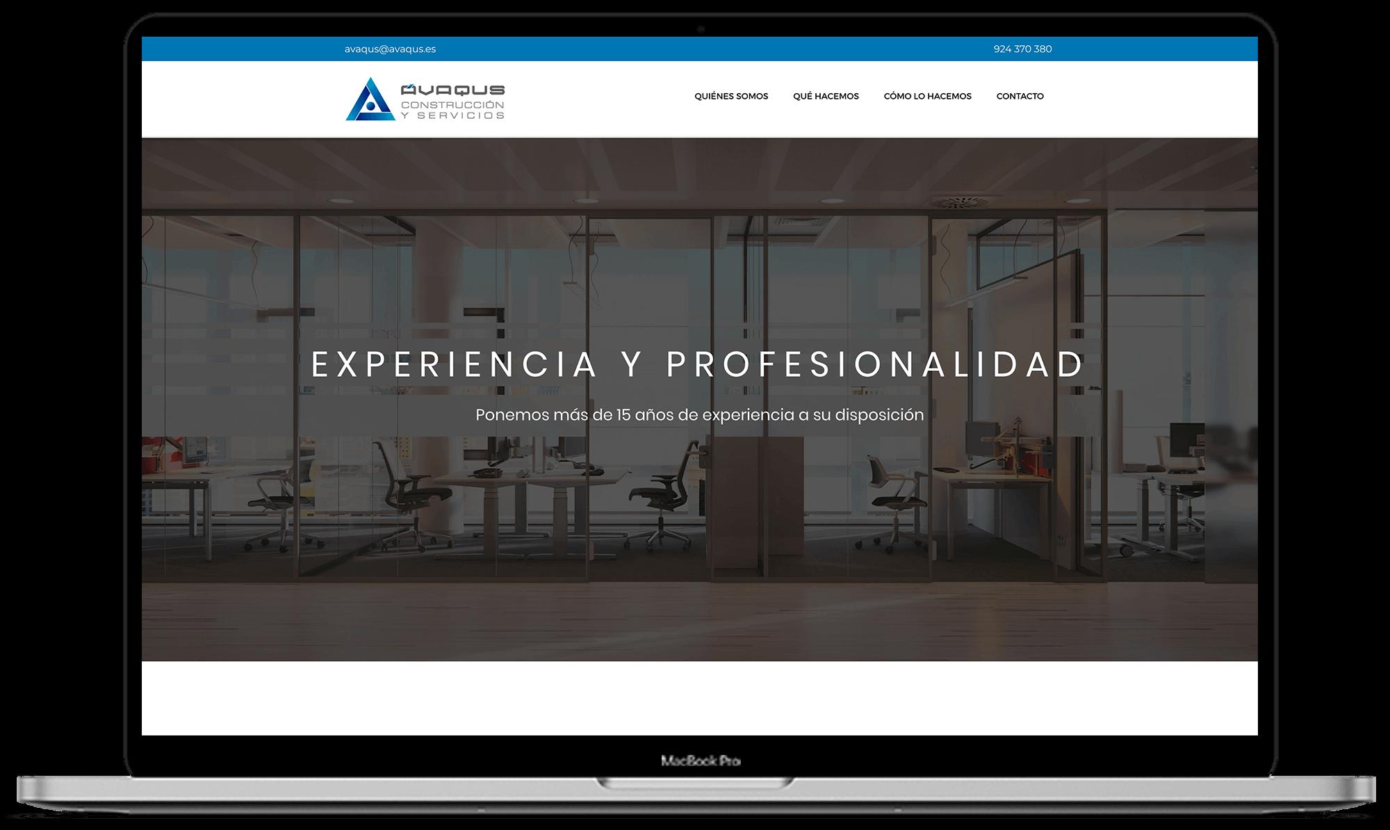 Ávaqus diseño web + identidad corporativa - Synapse   Smart technologies