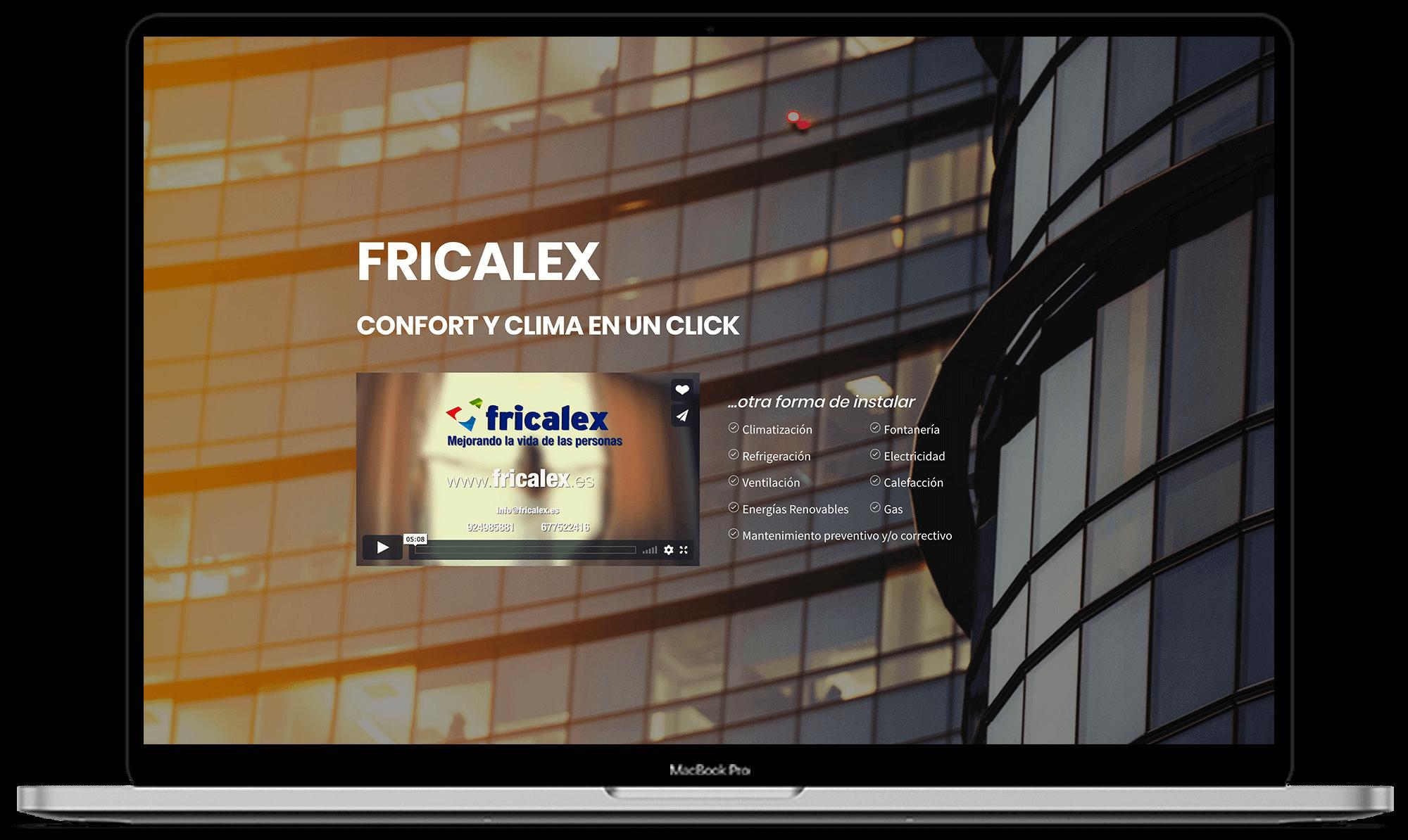 Fricalex diseño web - Synapse   Smart technologies